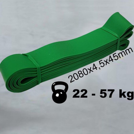 POWER RESISTANCE BAND 45 mm 22-57 kg