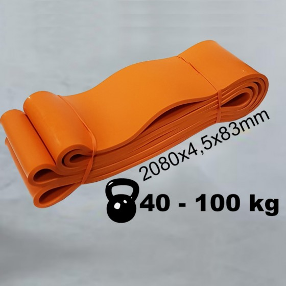 POWER RESISTANCE BAND 83 mm 40-100 kg