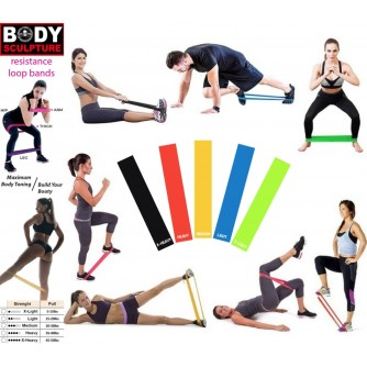 Body Sculpture Resistance Loop Bands