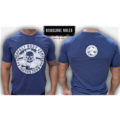 HARDCORE RULES LOGO - UNIQUE T-SHIRT NEW