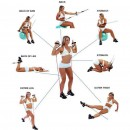Power Resistance Fitness Exercise Latex Tubes