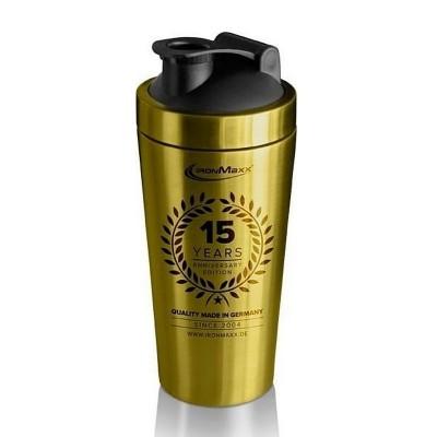 Gold Steel Shaker 15 YEAR ANNIVERSARY