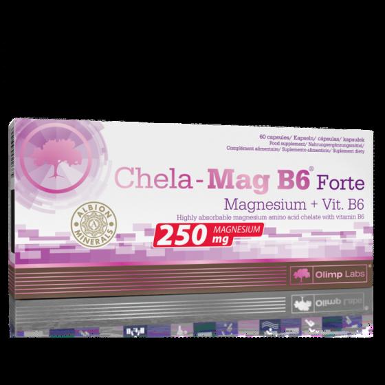 CHELA-MAG B6 FORTE MEGA CAPS 60caps