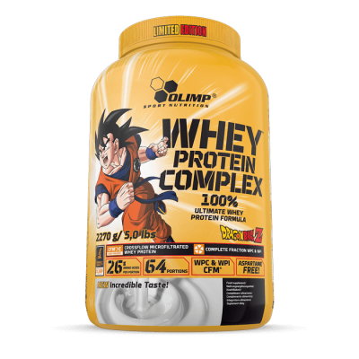 100% Whey Protein Complex 2270g DRAGON BALL LIMITED EDITION