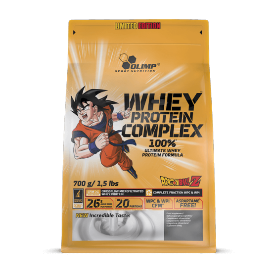 100% Whey Protein Complex 700g DRAGON BALL LIMITED EDITION