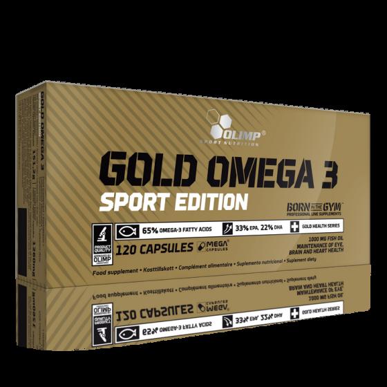 Gold Omega 3 Spord Edition 30caps