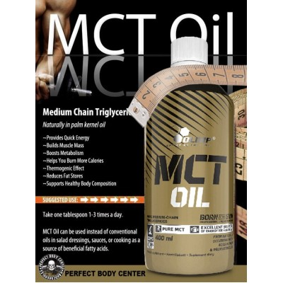 MCT Oil 100% PURE MEDIUM-CHAIN TRIGLYCERIDES 400ml