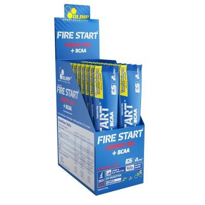 FIRE START™ ENERGY GEL + BCAA