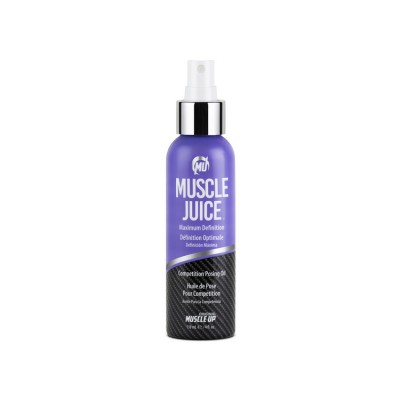 Muscle Juice Maximum Definition Competition posing Oil 4 oz - 118 ml
