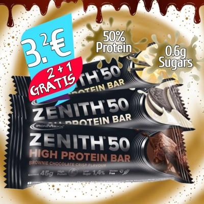 ZENITH Protein Bar 45g - 2 + 1 GRATIS