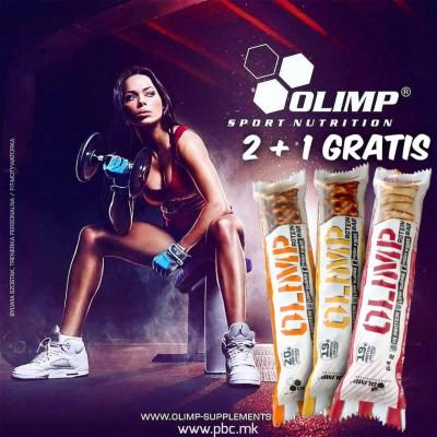 2 + 1 OLIMP PROTEIN BAR 64 g