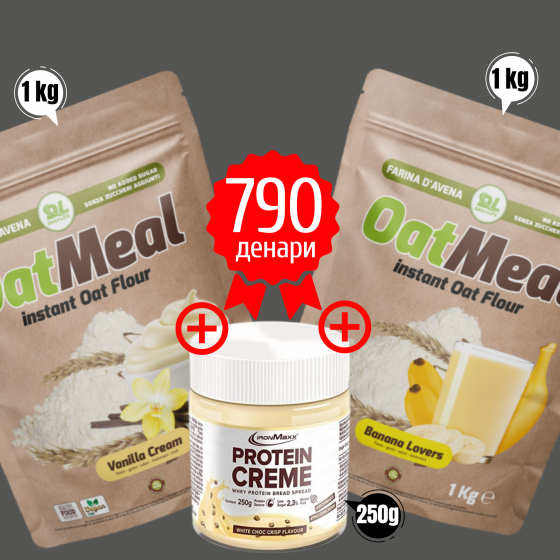 OAT MEAL INSTANT + PROTEIN CREME