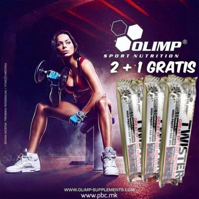 2 + 1 GRATIS Twister Protein Bar 60g