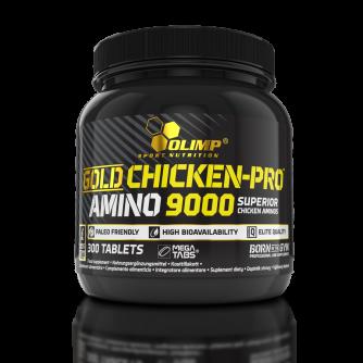 GOLD CHICKEN-PRO™ AMINO 9000 Mega Tabs® 300tabs